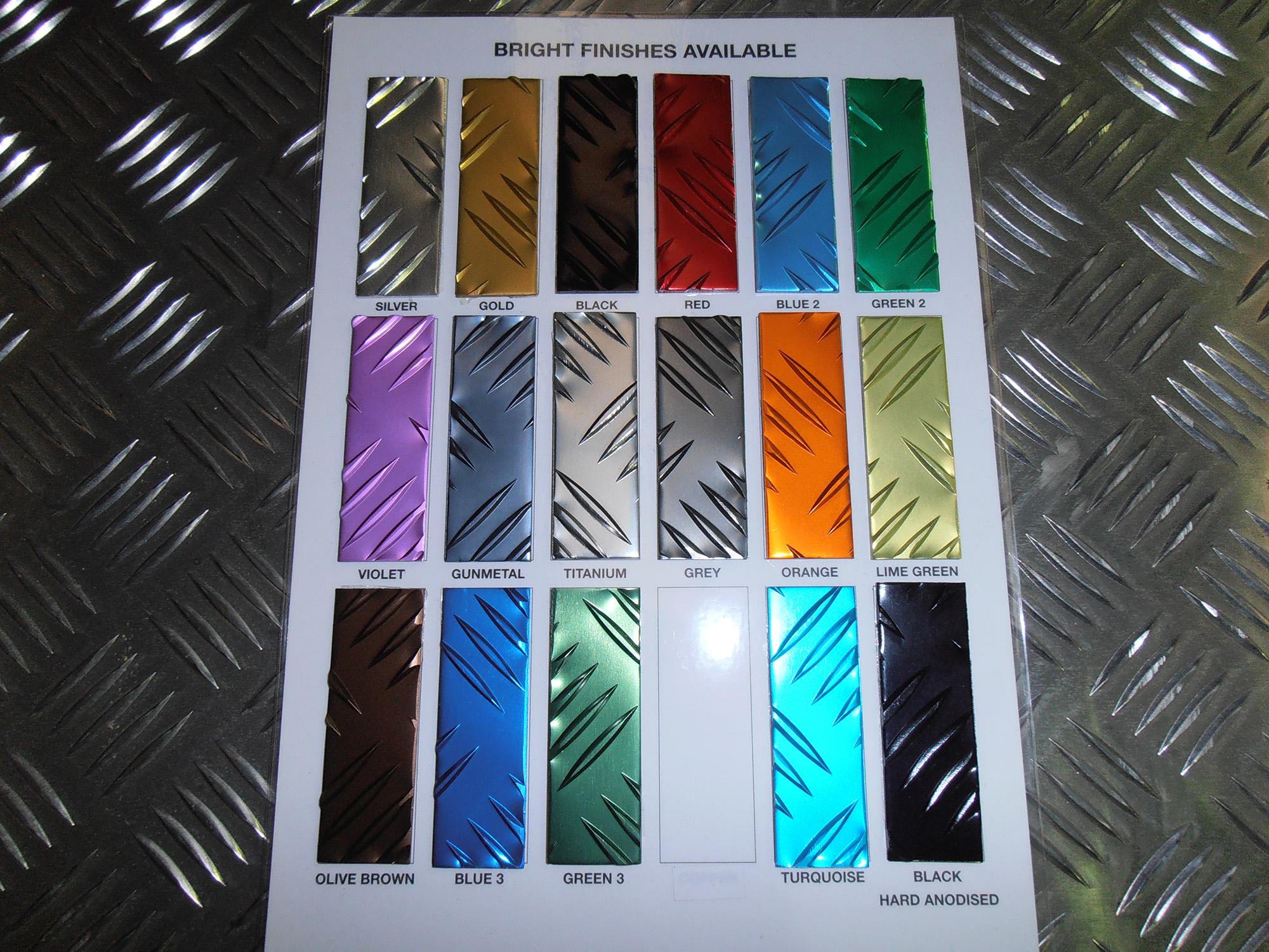 Aluminium Tread Plate 5 Bar Metal Supplies